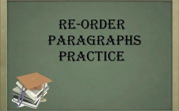 PTE阅读段落排序题小技巧-你还在干读文章吗?